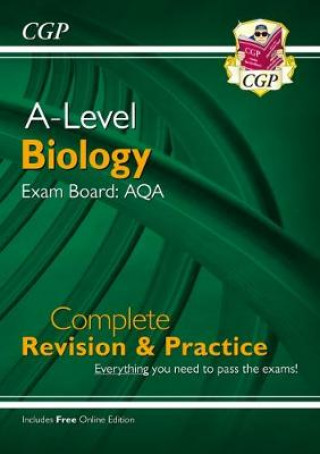 New A-Level Biology: AQA Year 1 & 2 Complete Revision & Practice with Online Edition