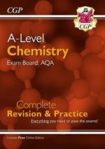New A-Level Chemistry: AQA Year 1 & 2 Complete Revision & Practice with Online Edition
