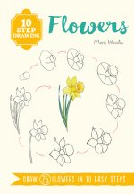 10 Step Drawing: Flowers