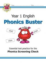 KS1 English Phonics Buster - for the Phonics Screening Check in Year 1