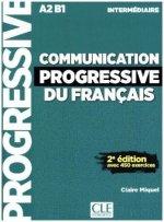 Communication progressive du français, Niveau intermédiaire, Livre avec 450 exercices + Audio-CD