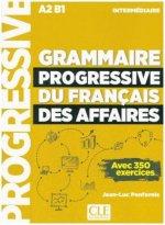 Grammaire progressive du Français des Affaires, Niveau intermédiaire - Livre avec 350 exercices + mp3-CD + Online