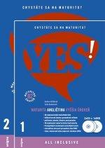 YES! Angličtina - nová maturita - vyššia úroveň + 2CD + DVD (B2)
