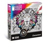 3D Colour Therapy Puzzle Löwe (Puzzle)