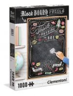 Black Board Puzzle Think outside the box (Puzzle)