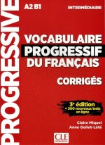 Vocabulaire progressif intermediare klucz 3ed A2 B1