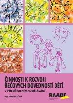 Činnosti k rozvoji řečových dovedností dětí
