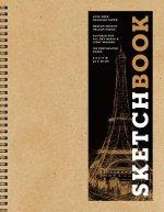 Sketchbook (basic large spiral Kraft)