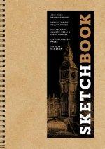 Sketchbook (basic medium spiral Kraft)