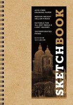 Sketchbook (basic small spiral Kraft)