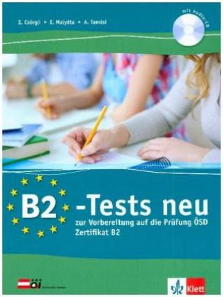 B2-Tests neu. Testbuch und Audio-CD