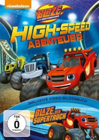 blaze und die monster-maschinen: high-speed abenteuer, 1 dvd / nejlevnější knihy