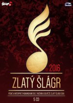 Zlatý šlágr 2016 - 5 CD