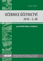 Učebnice Účetnictví 2018 - 2. díl
