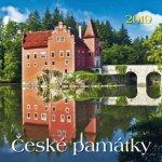 České památky 2019 - nástěnný kalendář