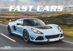 Fast cars 2019 - nástěnný kalendář