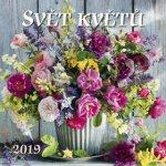 Svět květů 2019 - nástěnný kalendář