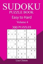 300 Easy to Hard Sudoku Puzzle Book