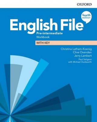 English File Fourth Edition Pre-Intermediate Workbook with Answer Key