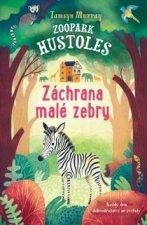 Zoopark Hustoles Záchrana malé zebry