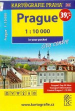 Prague - 1:10 000 in your pocket city centre