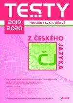 Testy 2019-2020 z českého jazyka pro žáky 5. a 7. tříd ZŠ