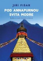 Pod Annapurnou svítá modře