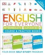English for Everyone: Intermediate and Advanced Box Set