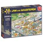 Jan van Haasteren - Die Schleuse - 2000 Teile Puzzle