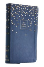 NKJV, Thinline Bible Youth Edition, Leathersoft, Blue, Red Letter, Comfort Print