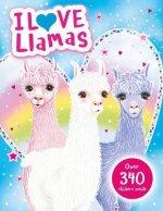 I Love Llamas! Activity Book