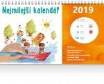 Nejmilejší kalendář - stolní kalendář 2019