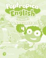 Poptropica English Islands Level 4 My Language Kit + Activity Book pack