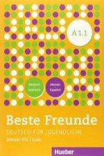 Beste freunde A1.1. Kursbuch Alumno +glosario xxl