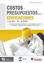 Costos y Presupuestos para Edifi caciones con Excel 2010 - S
