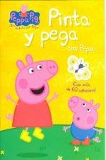 Pinta y pega con Peppa (Peppa Pig)