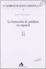 La formación de palabras en español (H)