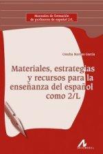 Materiales, estrateias,recursos enseñanza español