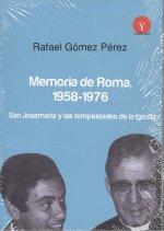 MEMORIA DE ROMA 1958-1976.