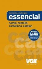 DICCIONARI ESSENCIAL CATALÁ-CASTELLÀ/CASTELLANO-CATALÁN