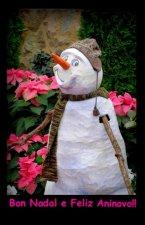(Postal) Bo Nadal Boneco de neve