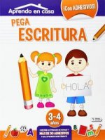 Pega escritura de 3 a 4 años
