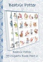 Beatrix Potter 99 Cliparts Book Part 2 ( Peter Rabbit )