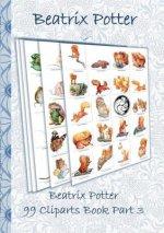 Beatrix Potter 99 Cliparts Book Part 3 ( Peter Rabbit )