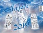 Anjeli - stolný kalendár 2019