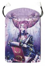 Mystical Manga Tarot Satin Bag