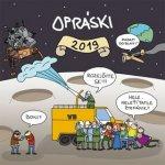Opráski - nástěnný kalendář 2019