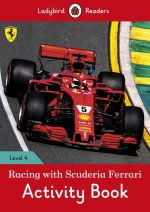 Racing with Scuderia Ferrari Activity Book - Ladybird Readers Level 4