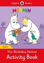 Moomin: The Birthday Button Activity Book - Ladybird Readers Level 1