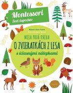 Moja prvá kniha o lesných zvieratkách